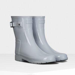 NWT Hunter Refined Slim Fit Short Gloss Rain Boots